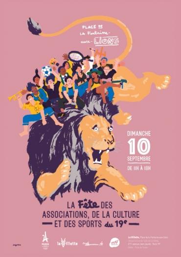 Retrouvons-nous le 10 septembre au Forum des associations Paris 19e